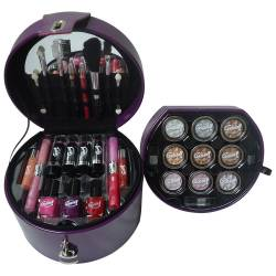Mallette de Maquillage - Glam's Purple - 33 Pcs - Gloss
