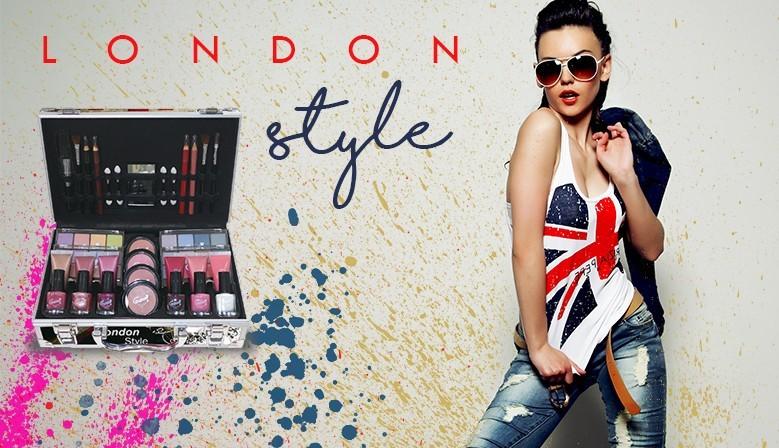 Mallette de Maquillage - London - 65 Pcs - Gloss