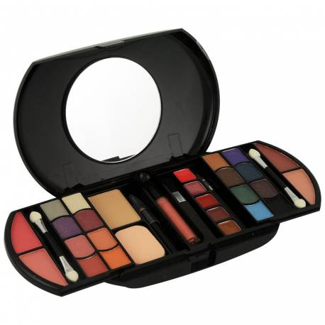 Palette de maquillage Design noir - 32pcs