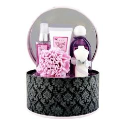 Coffret de bain au parfum puissant de rose - 5pcs
