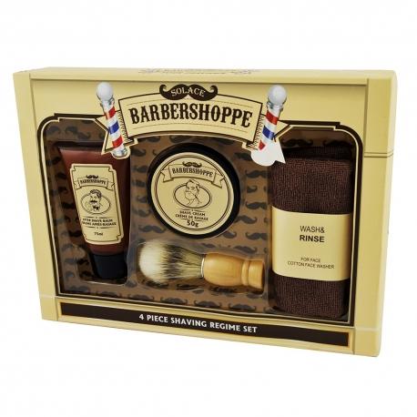 Coffret de rasage BARBERSHOPPE - 4 pcs - Gloss!