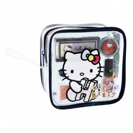 Trousse de Maquillage - Hello Kitty - 7 Pcs