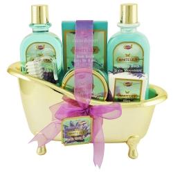 Coffret de bain au parfum élégant de lys - 6pcs