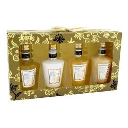 Coffret de bain au parfum de musc et fleurs blanches - 4pcs