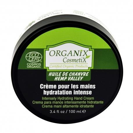 Crème mains protectrice huile de chanvre bio ECOCERT 100ml