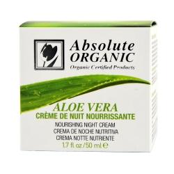 Crème de nuit protectrice à l'aloe vera bio ECOCERT 50ml