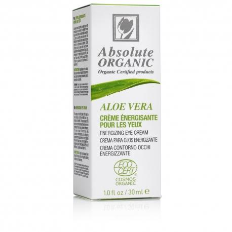 Crème rajeunissante yeux à l'aloe vera bio ECOCERT 30ml