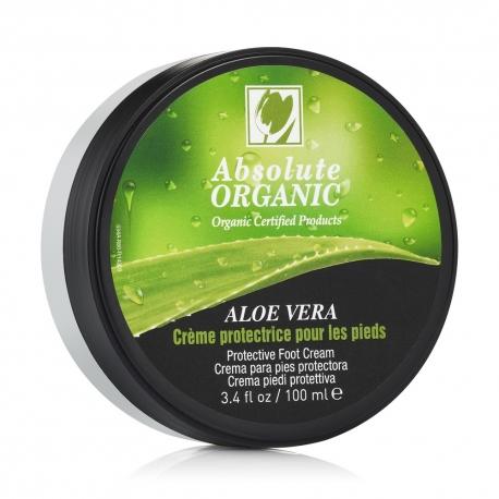 Crème pieds ultra hydratante aloe vera bio ECOCERT 100ml