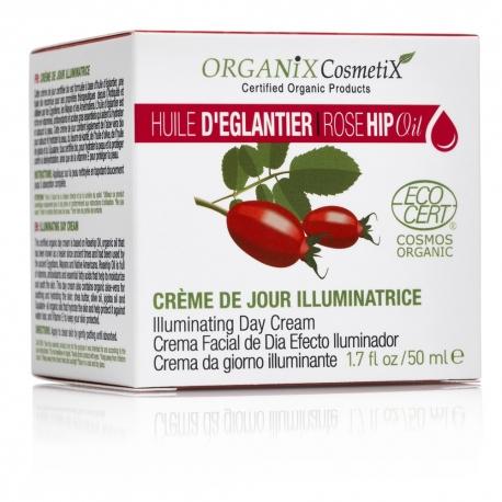 Crème de Jour Illuminatrice 100% BIO à l'Huile d'églantier Certifié ECOCERT - 50ml