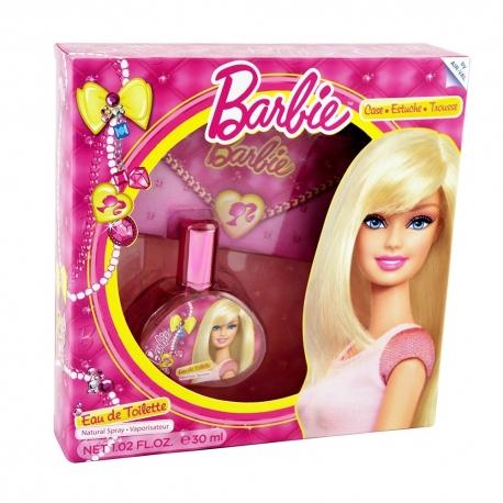Barbie Coffret enfant avec eau de toilette 30ml - 2pcs