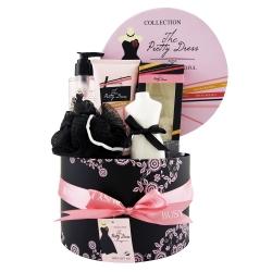 Coffret de bain parfum fleur de pivoine et patchouli - 5pcs