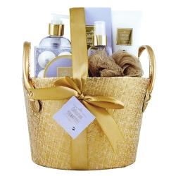 Coffret de bain doux parfum de lavande et orchidée - 7pcs