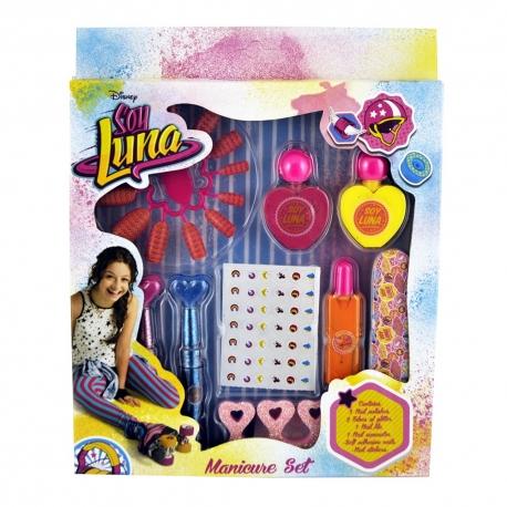 Soy Luna Coffret manucure pour enfant - 9pcs