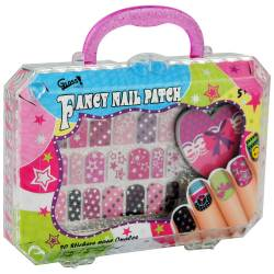 Coffret nail art pour enfant rose - 22pcs