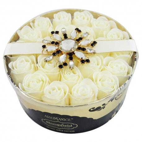 Pétales de savon parfum musc et fleurs blanches - 22pcs