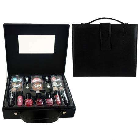 Mallette de maquillage Fashion Week noir - 27pcs