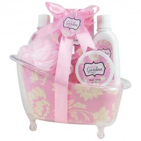 Coffret de bain au parfum frais de fleurs de cerisier - 6pcs