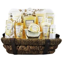 Coffret de bain premium au parfum de musc et fleurs - 14pcs