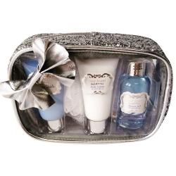 Coffret de bain au parfum léger de fleurs de coton - 4pcs