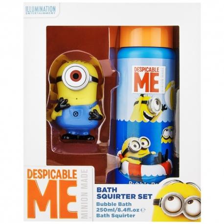 Minions Coffret enfant avec bain moussant et jouet - 2pcs