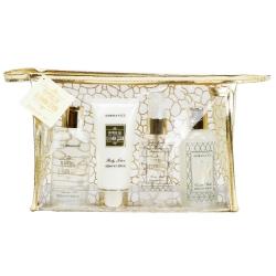 Coffret de bain parfum épicé de vanille et gingembre - 4pcs