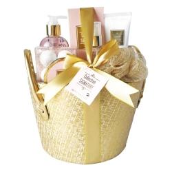 Coffret de bain parfum karité,vanille,menthe citronée - 7pcs