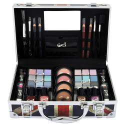 Mallette de maquillage Beauty London rouge - 40pcs