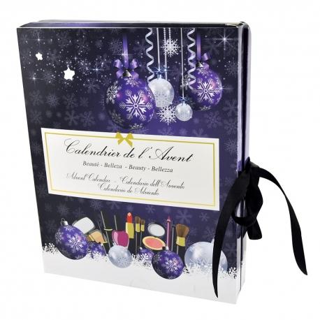 Cadeau de Noël Calendrier de l'Avent beauté avec cosmétiques - 22pcs