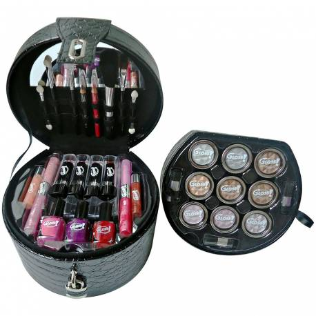 Mallette de maquillage Glam's Black - 33pcs