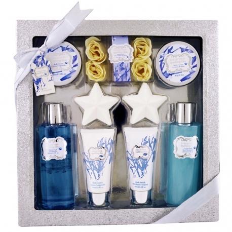 Gloss! Coffret cadeau de Bain - Collection Sparkling Bliss - Fleur de Coton