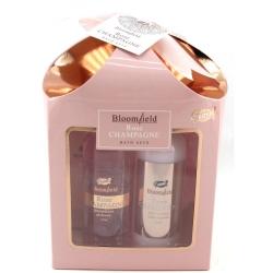 Gloss - Coffret cadeau de bain Pour Femme - Collection Rose Champagne - Rose