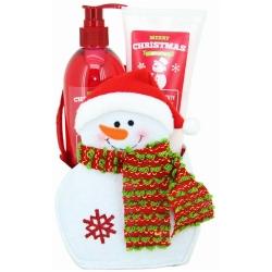 Gloss - Coffret De Bain Pour Femme - Pingouin de Neige - Merry Christmas - Spécial Noël Mûre