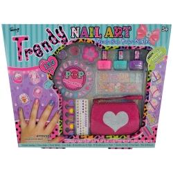 GLoss - Coffret cadeau beauté - Set de manucure pour enfant - Collection Nail Art - Idée cadeau