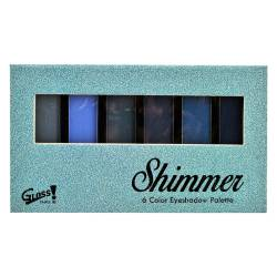 Palette de maquillage Fashion Bleu - 8pcs