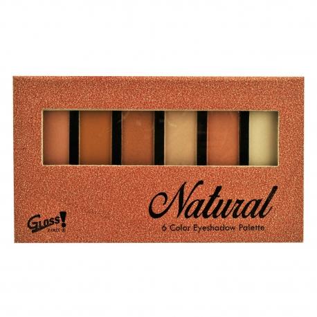 GLoss - Palette de maquillage - Ombres à paupières couleurs camaïeu de orange - Idée cadeau Beauté