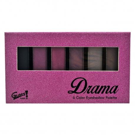 GLoss - Palette de maquillage - Ombres à paupières couleurs camaïeu de rose - Idée cadeau Beauté