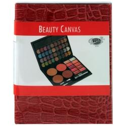 Palette de maquillage Canvas rouge - 51pcs