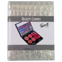 Palette de maquillage Canvas argent - 51pcs