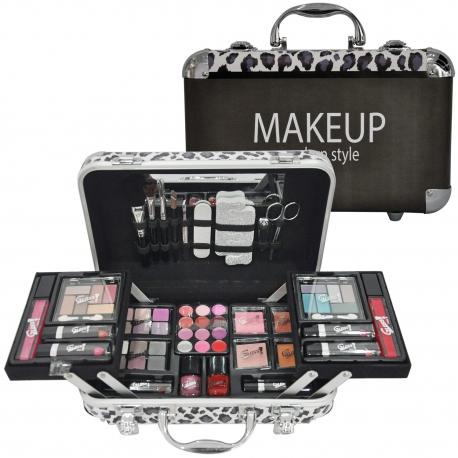 Mallette de maquillage Modern Style noir - 62pcs