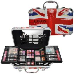 Mallette de maquillage London Fashion rouge - 62pcs