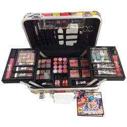 Mallette de maquillage Comics rouge - 62pcs