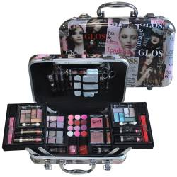 Mallette de maquillage Beauty Color noir - 62pcs