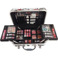 Mallette de maquillage Love blanc - 62pcs