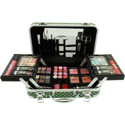 Mallette de maquillage Pretty Vintage noir - 62pcs