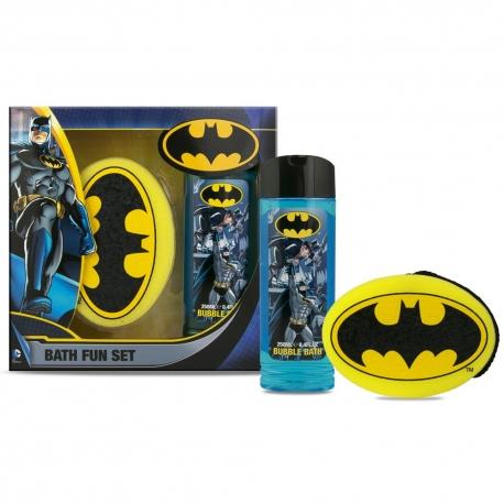 Batman Coffret enfant avec bain moussant 250ml et éponge