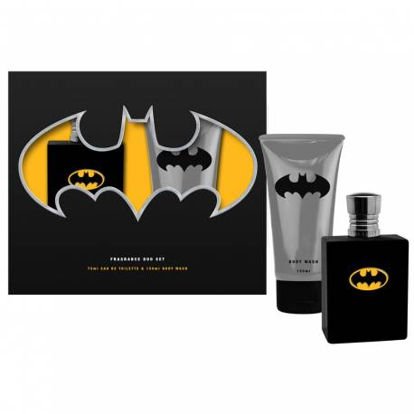 Batman Coffret enfant avec eau de toilette 75ml - 2pcs