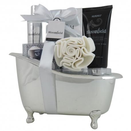 Coffret de bain frais au parfum fleurs de coton - 8pcs