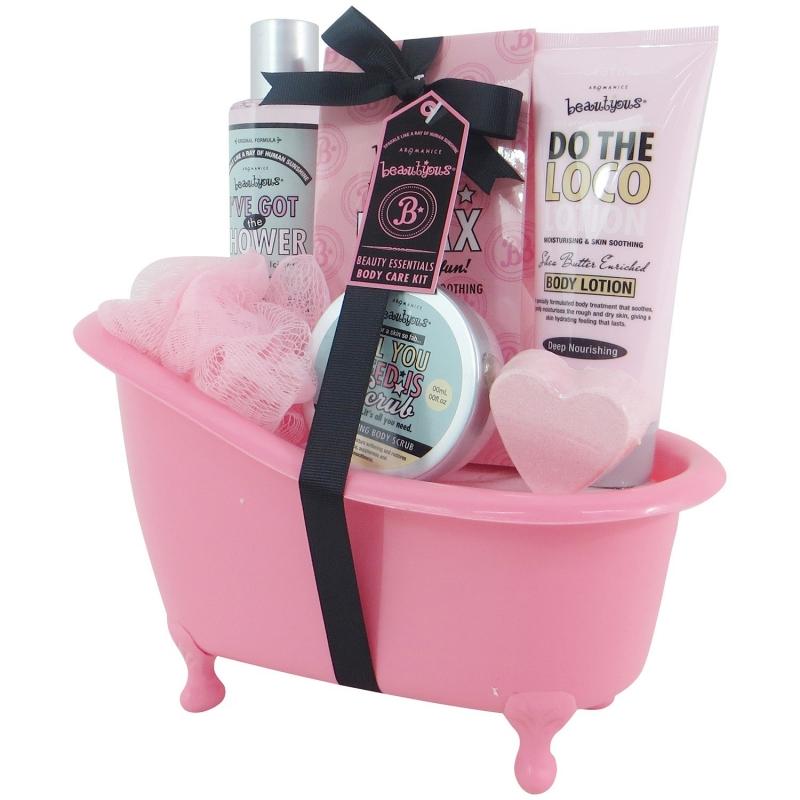 coffret de bain au parfum de karit vanille et menthe 6pcs. Black Bedroom Furniture Sets. Home Design Ideas