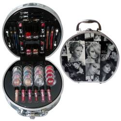 Mallette de maquillage Fashion Model noir - 52pcs