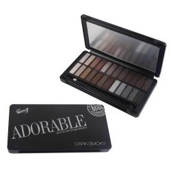 Palette de maquillage Smoky noir - 25pcs